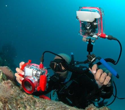 La fotografía submarina y el buceo
